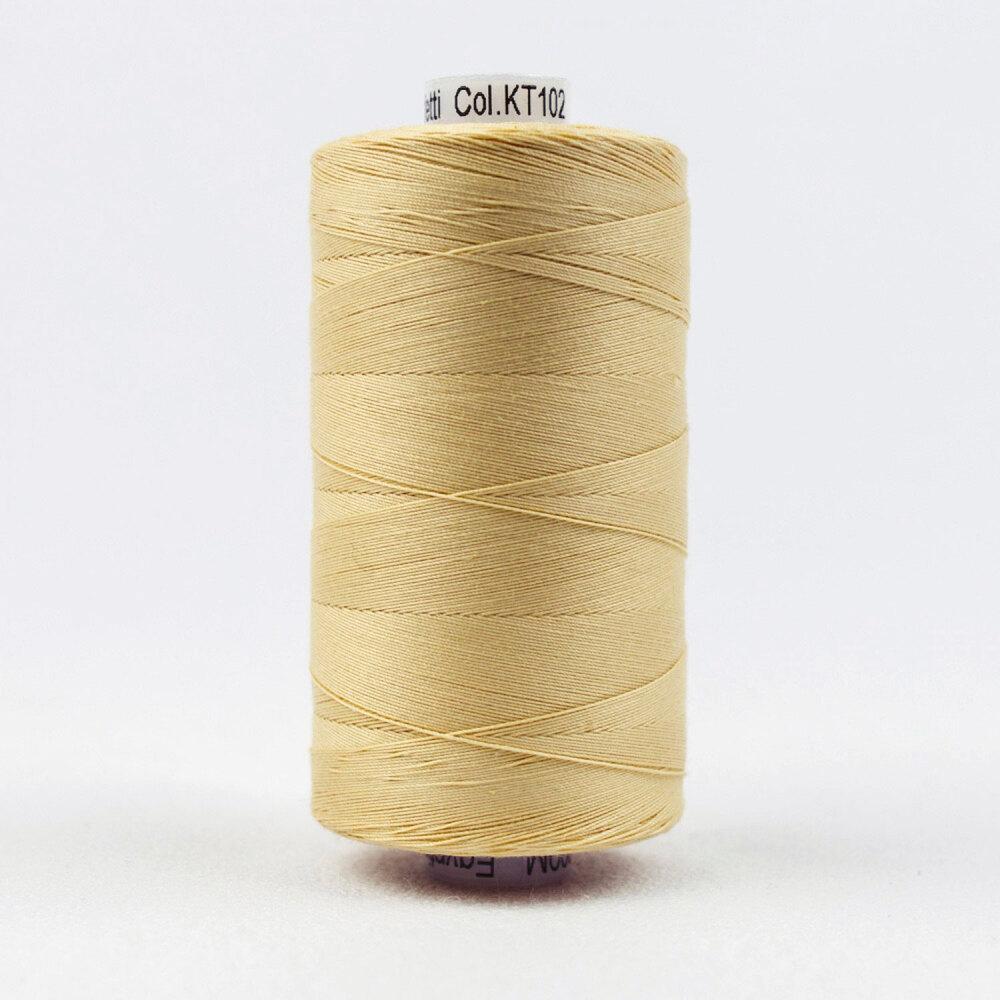 Spool of Konfetti KT102 Ecru thread | Shabby Fabrics