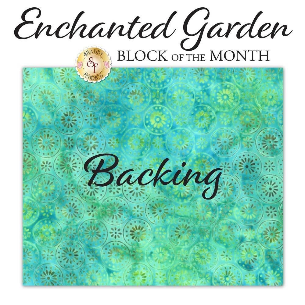 Enchanted Garden BOM - Backing