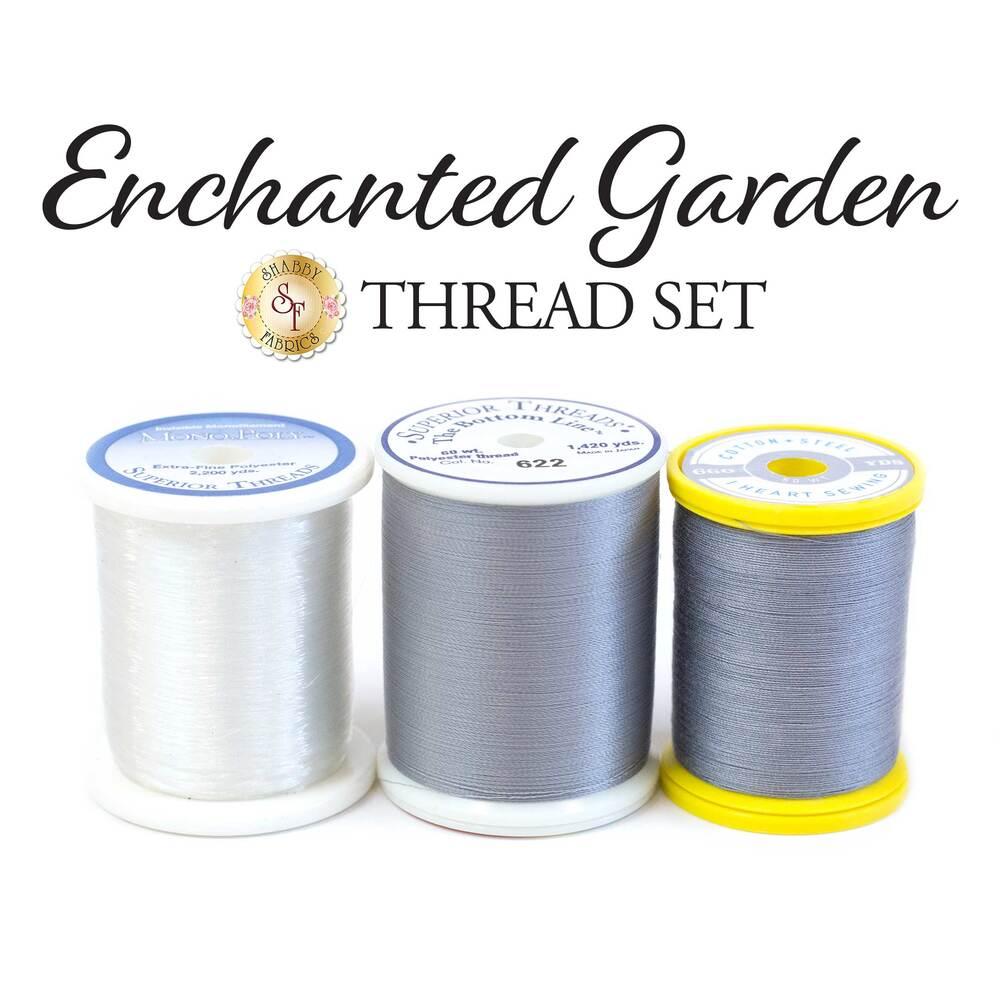Enchanted Garden BOM - 3pc Thread Set