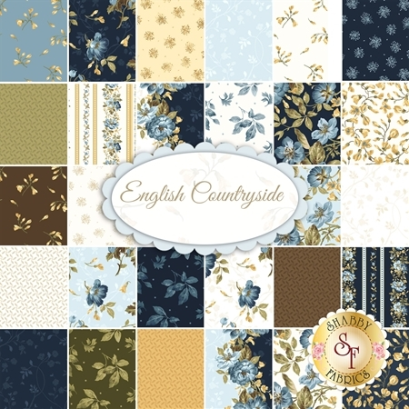 English Countryside  Yardage by Maywood Studio