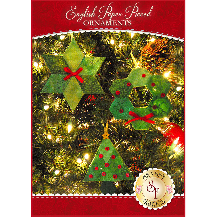 English Paper Pieced Ornaments Supply Kit - Fabric NOT Included!