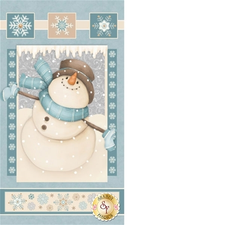 I Still Love Snow F6792P-11 Panel by Shelly Comiskey for Henry Glass Fabrics