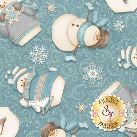 I Still Love Snow F6793-11 by Shelly Comiskey for Henry Glass Fabrics REM