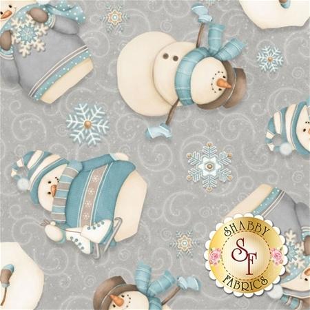 I Still Love Snow F6793-90 by Shelly Comiskey for Henry Glass Fabrics