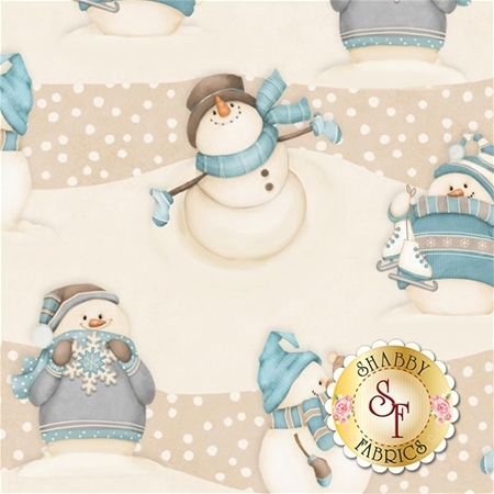 I Still Love Snow F6798-40 by Shelly Comiskey for Henry Glass Fabrics