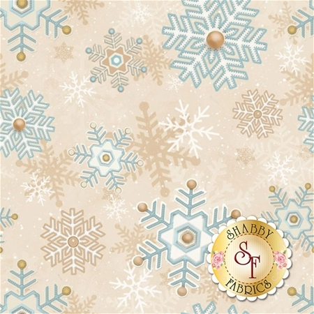 I Still Love Snow F6799-40 by Henry Glass Fabrics