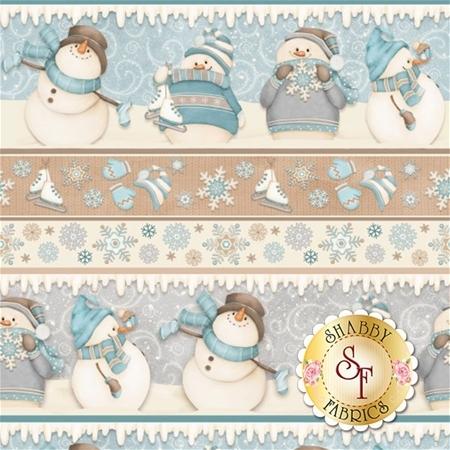 I Still Love Snow F6800-11 by Henry Glass Fabrics
