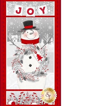 Frosty Friends Flannel F6977P-88 Panel by Henry Glass Fabrics