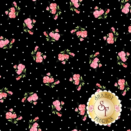 Sweet Pea Flannel F8123-J by Maywood Studio Fabrics