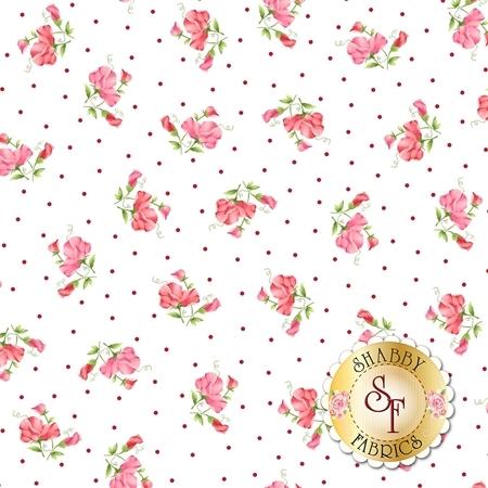 Sweet Pea Flannel F8123-W by Maywood Studio Fabrics