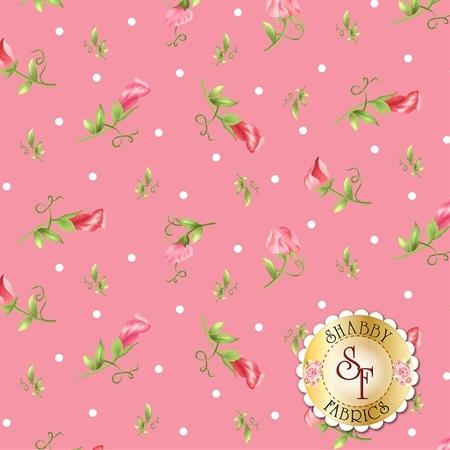 Sweet Pea Flannel F8125-P by Maywood Studio Fabrics