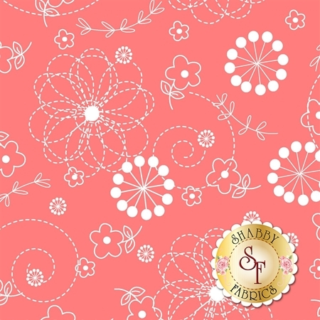 Lil' Sprout Flannel Too F8229-C by Kim Christopherson for Maywood Studio Fabrics
