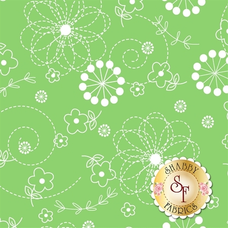 Lil' Sprout Flannel Too F8229-G by Kim Christopherson for Maywood Studio Fabrics