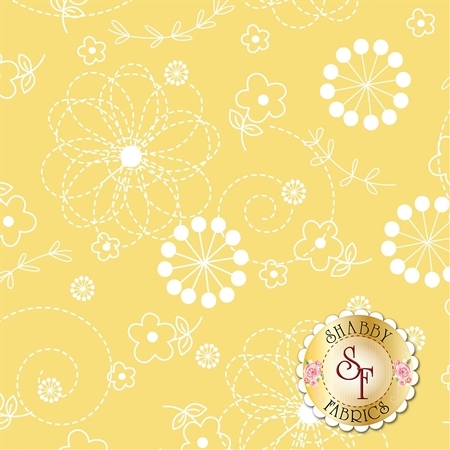 Lil' Sprout Flannel Too F8229-S by Kim Christopherson for Maywood Studio Fabrics
