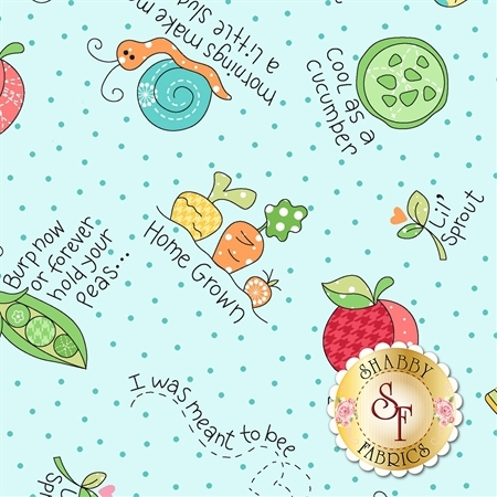 Lil' Sprout Flannel Too F8231-Q by Kim Christopherson for Maywood Studio Fabrics