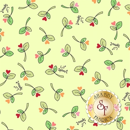 Lil' Sprout Flannel Too F8232-G by Kim Christopherson for Maywood Studio Fabrics