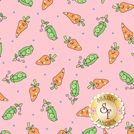 Lil' Sprout Flannel Too F8233-P by Kim Christopherson for Maywood Studio Fabrics