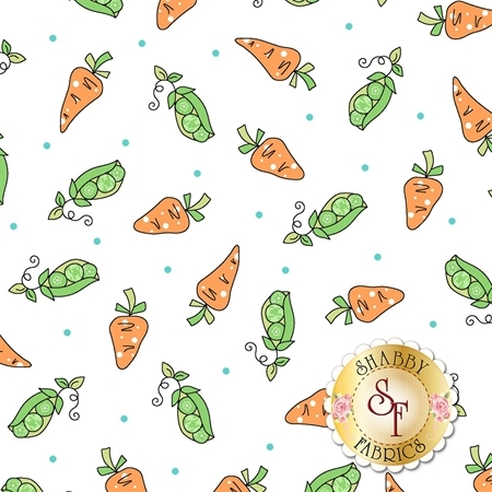 Lil' Sprout Flannel Too F8233-W by Kim Christopherson for Maywood Studio Fabrics