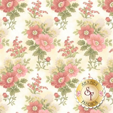 Gentle Garden Flannel F8279-40 by Henry Glass Fabrics