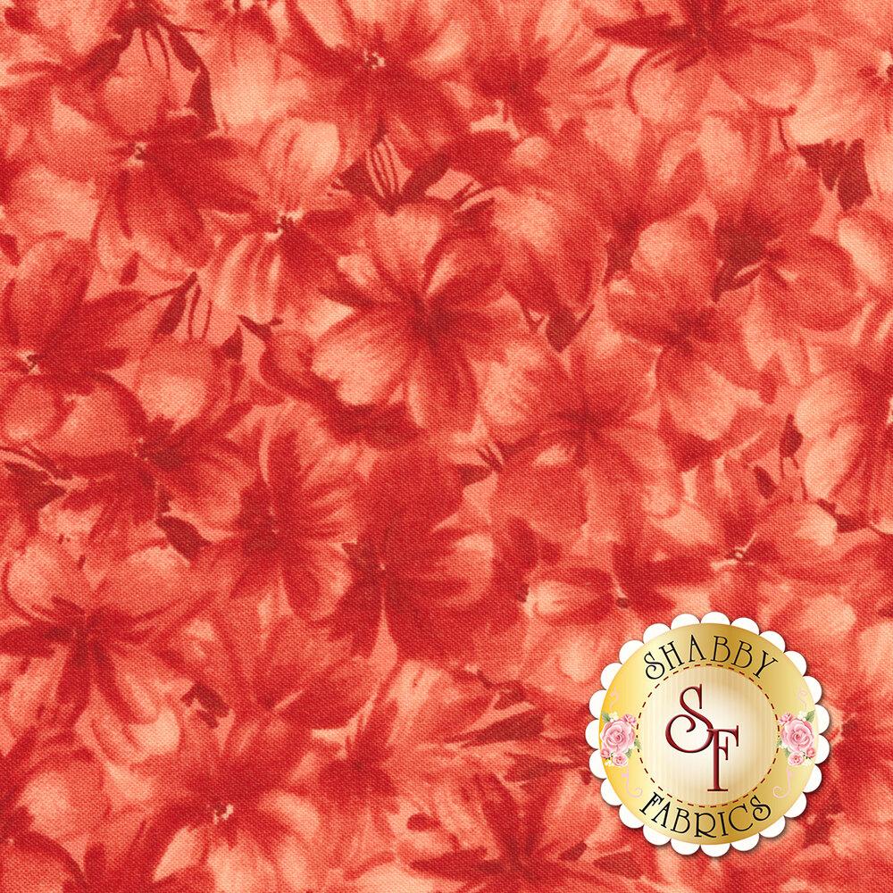 Chloe 9181-R2 Tonal Geraniums Soft Red by Maywood Studio Fabrics