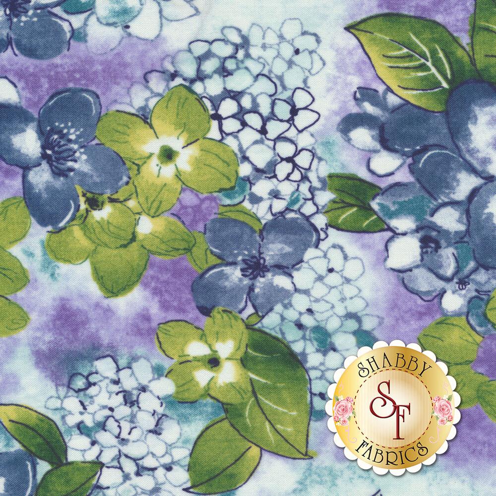 Petal Park 3514-002 Where Flowers Bloom Hydrangea by RJR Fabrics