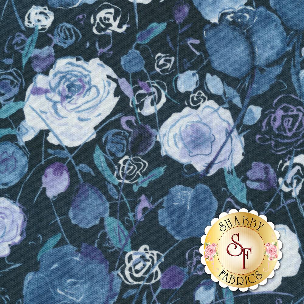 Petal Park 3515-003 Rose Garden Iris by RJR Fabrics
