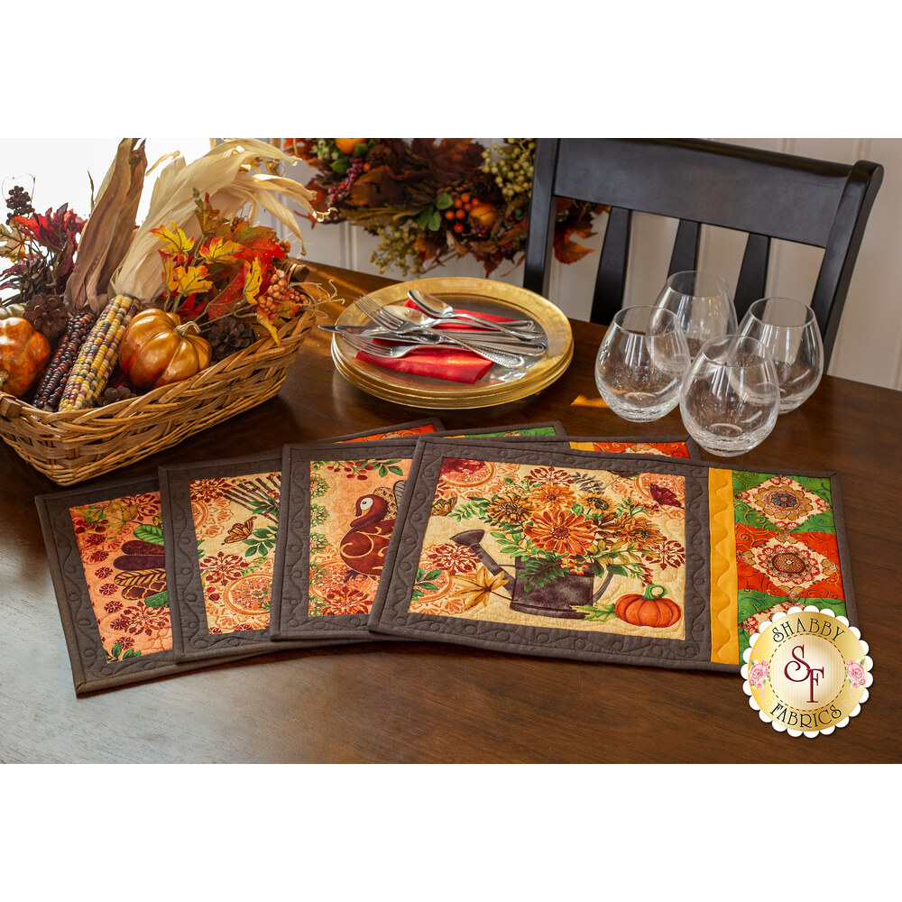 Fall Festival Placemats Kit