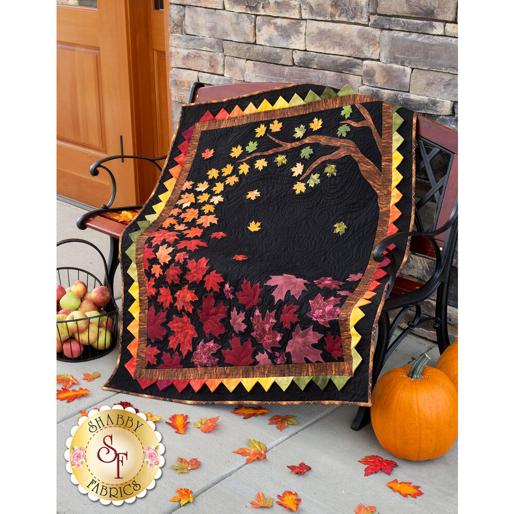 Autumn Allure Quilt Kit - Laser Cut
