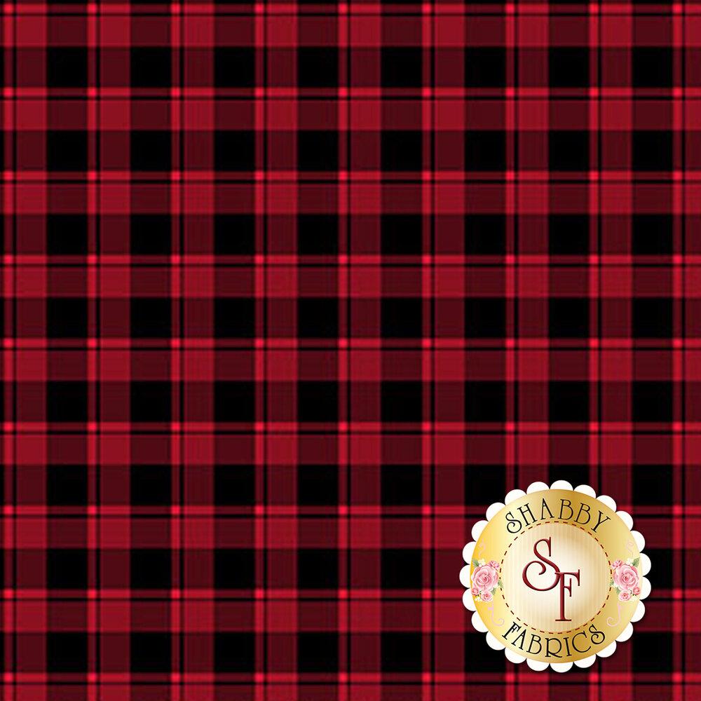 Red and black checkered fabric | Shabby Fabrics