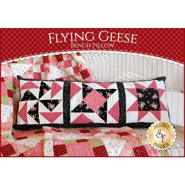 Welcome Home Flannel - Flying Geese Bench Pillow Kit