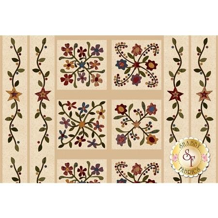 Folk Art Flannel II 2180FP-44 Panel by Henry Glass Fabrics