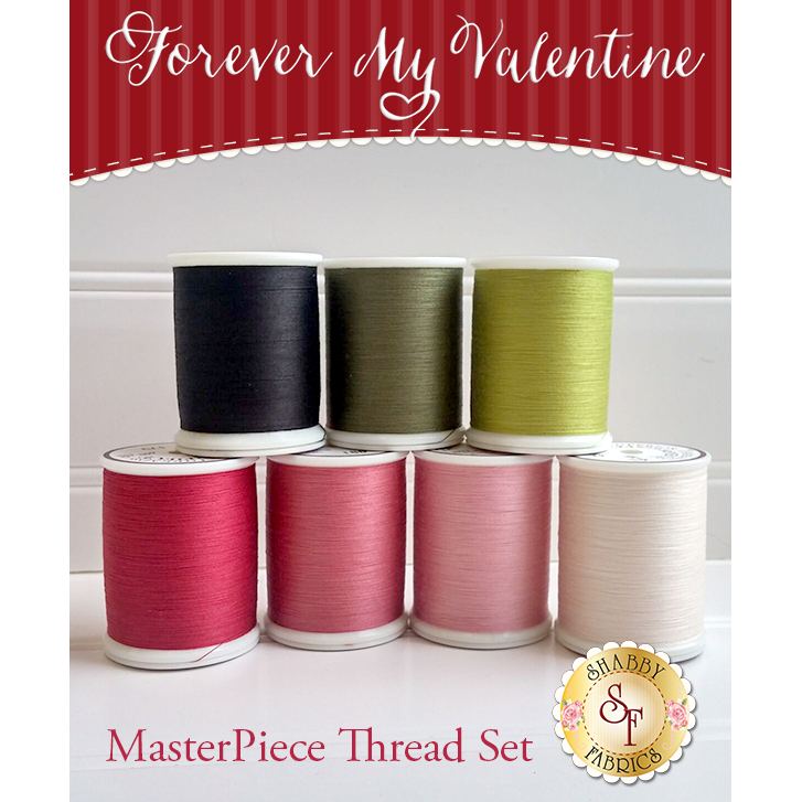 Forever My Valentine Laser-Cut BOM - 7pc MasterPiece Thread Set - RESERVE