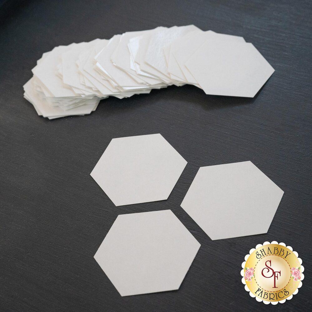 """Freezer Paper Hexis - 1 1/8"""" - 72ct"""