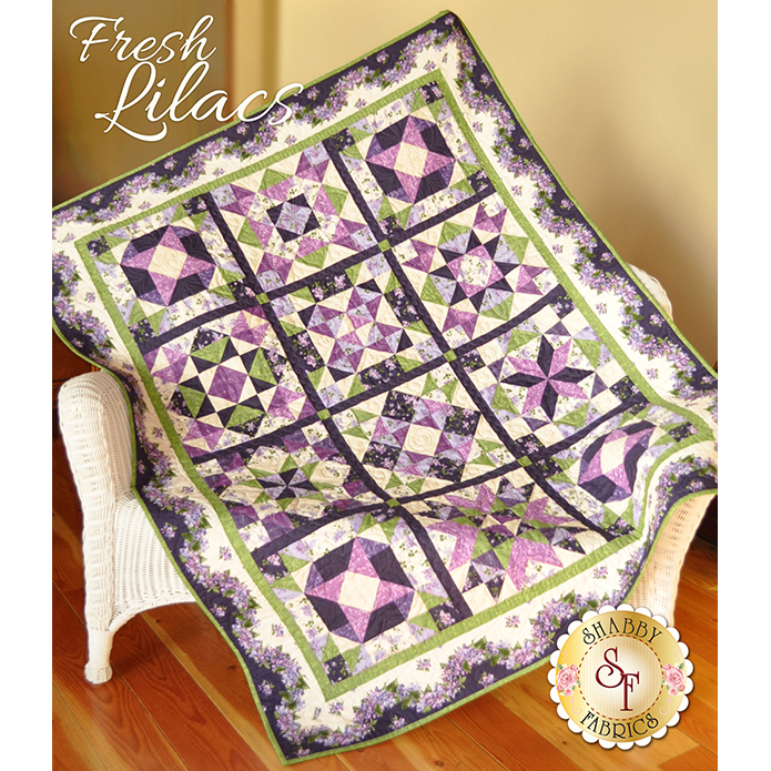 Fresh Lilacs Quilt Kit