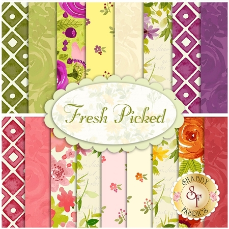 Fresh Picked  Yardage by Clothworks Fabrics