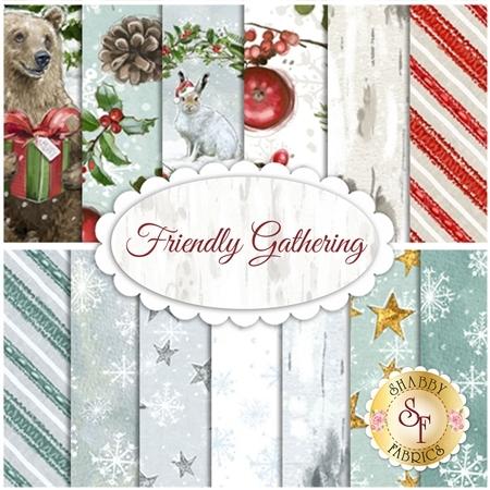 Friendly Gathering  Yardage by Wilmington Prints