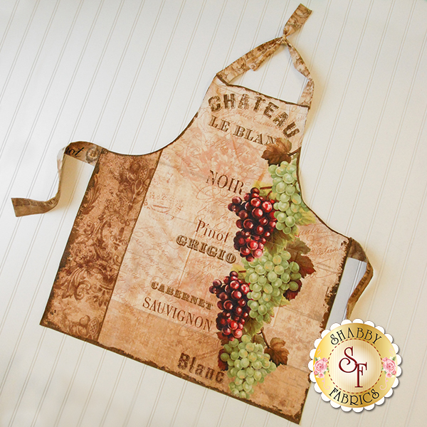 From The Chateau 86408-126 Apron Panel by Lisa Audit for Wilmington Prints