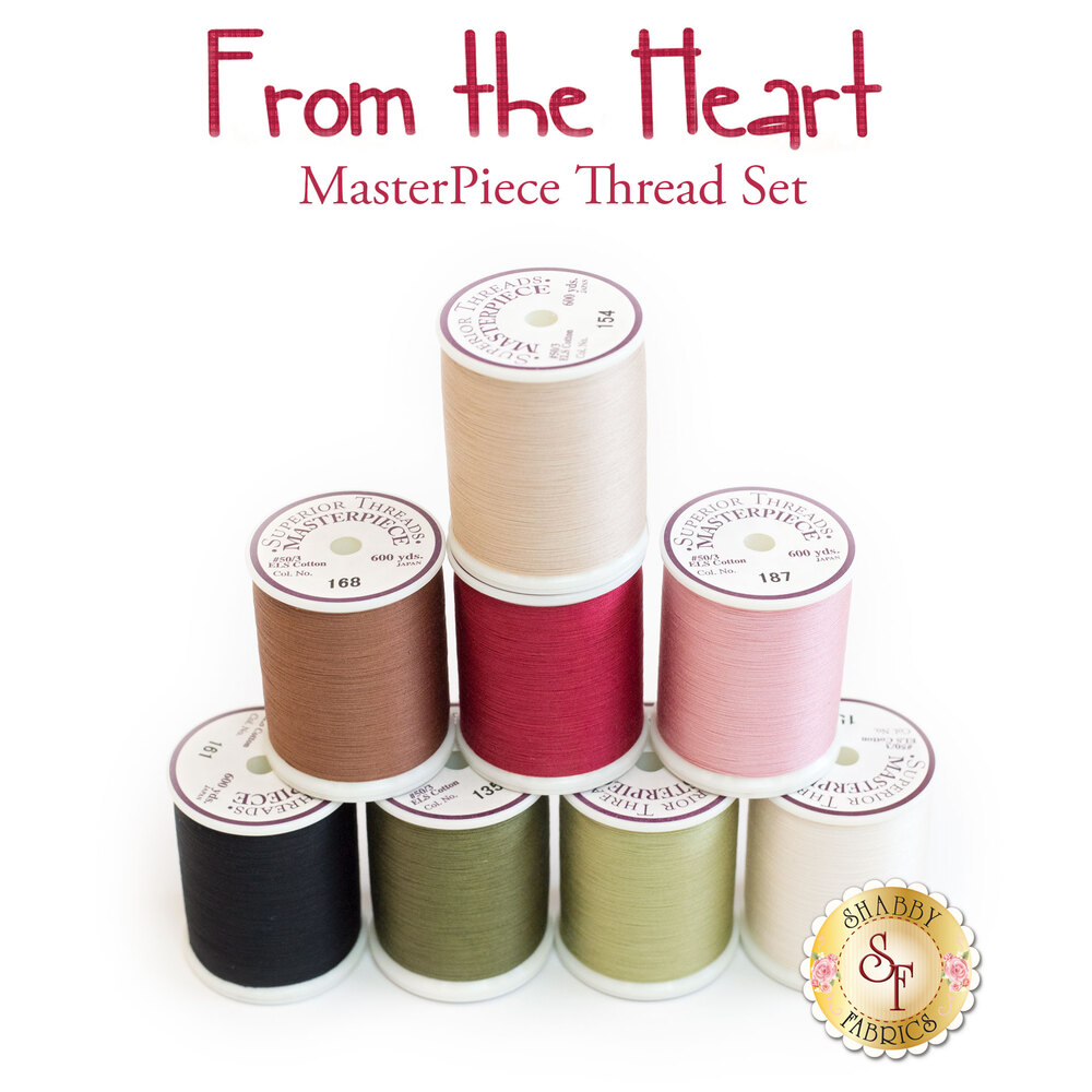 From the Heart BOM - 8pc MasterPiece Thread Set