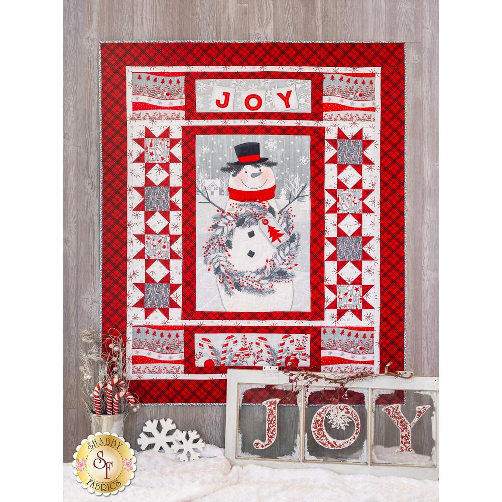 Frosty Friends Quilt Kit at Shabby Fabrics