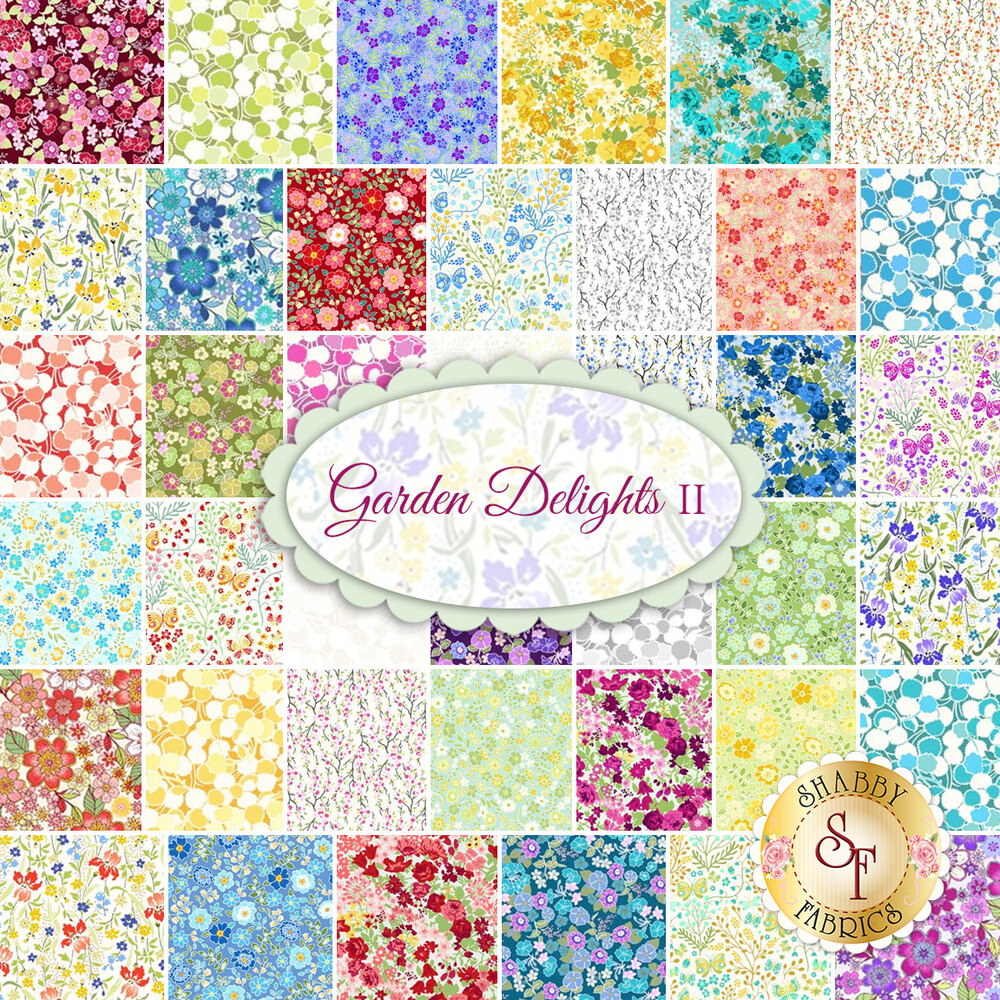 Garden Delights II  Yardage by In The Beginning Fabrics