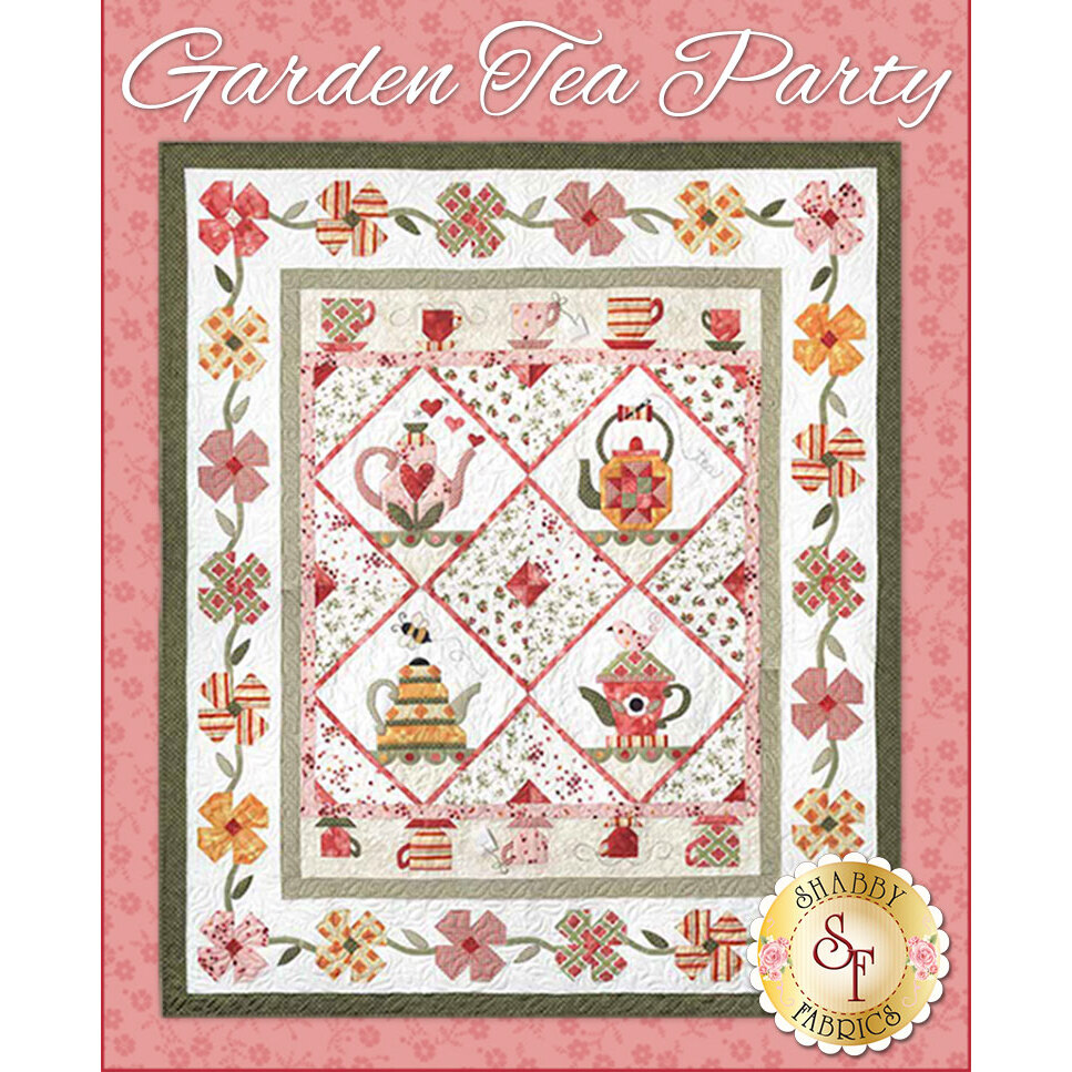 Garden Tea Party Pattern Set