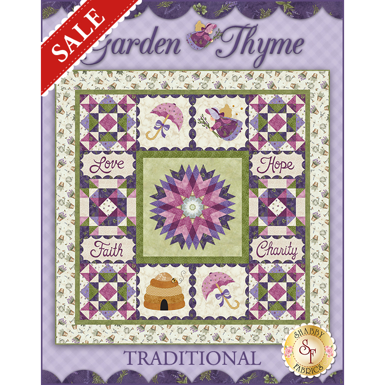 Garden Thyme Quilt Kit - Traditional