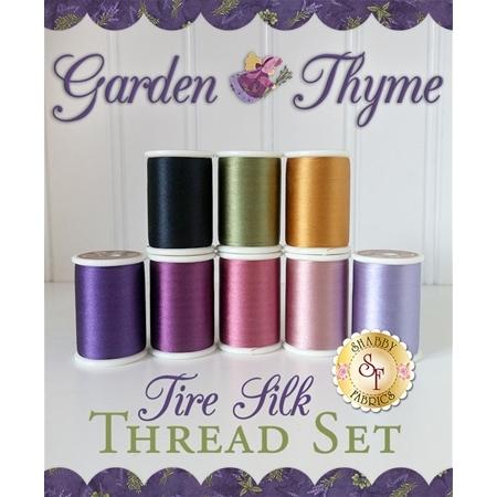 Garden Thyme BOM - 8-Piece Tire Silk Thread Set
