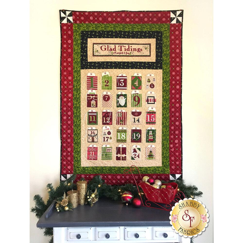 Glad Tidings Wall Hanging Kit | Shabby Fabrics