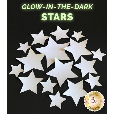 Laser Cut Star Set - Glow In The Dark Variety Pack