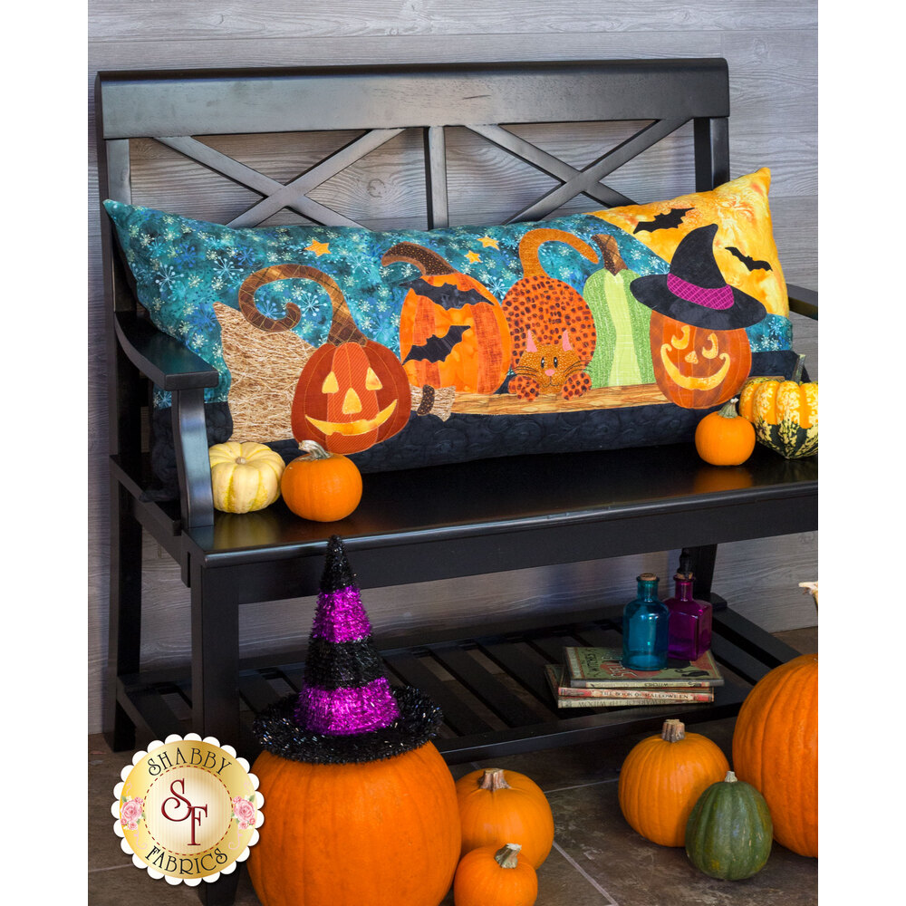 Halloween Patch Series - Pillow - Laser-Cut Kit - Shabby Fabrics