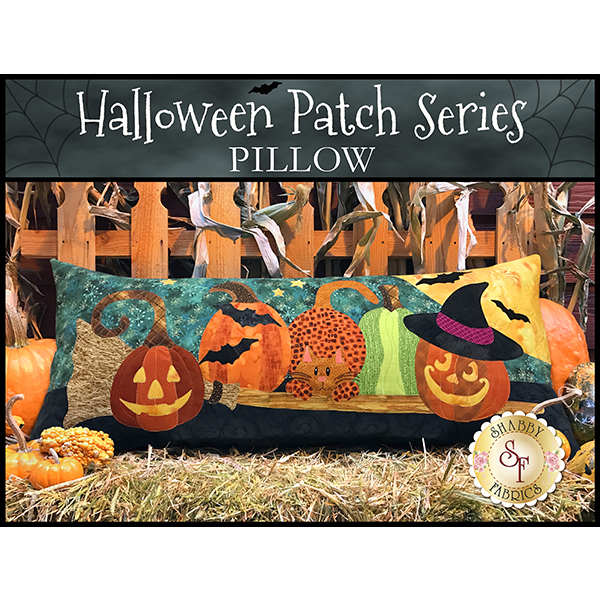 Halloween Patch Series Pillow Kit - Pre-Fused/Laser-Cut