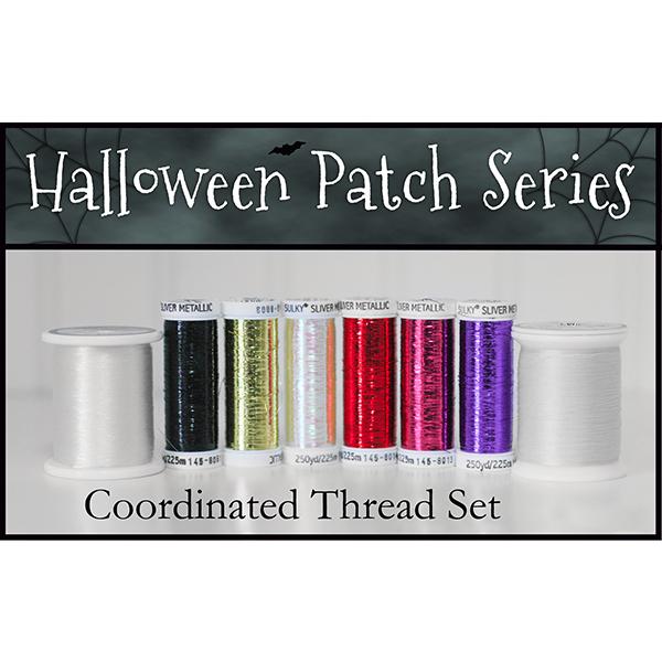 Halloween Patch Series Thread Set