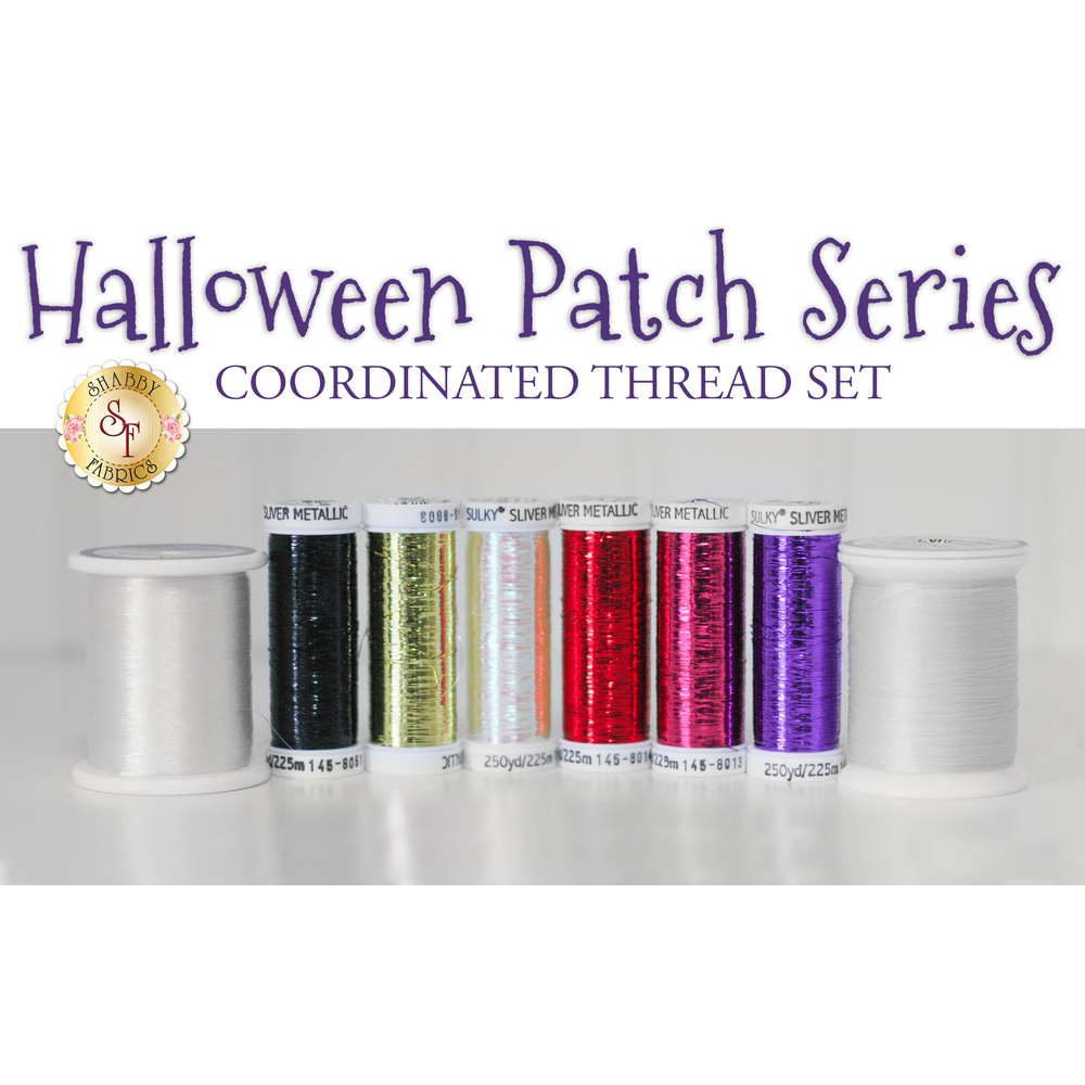 Halloween Patch Series - 8pc Thread Set