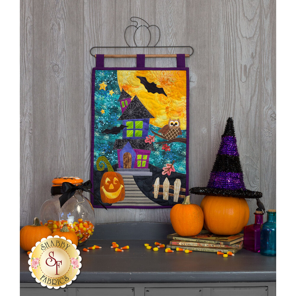 Halloween Patch Series Wall Hanging Pattern